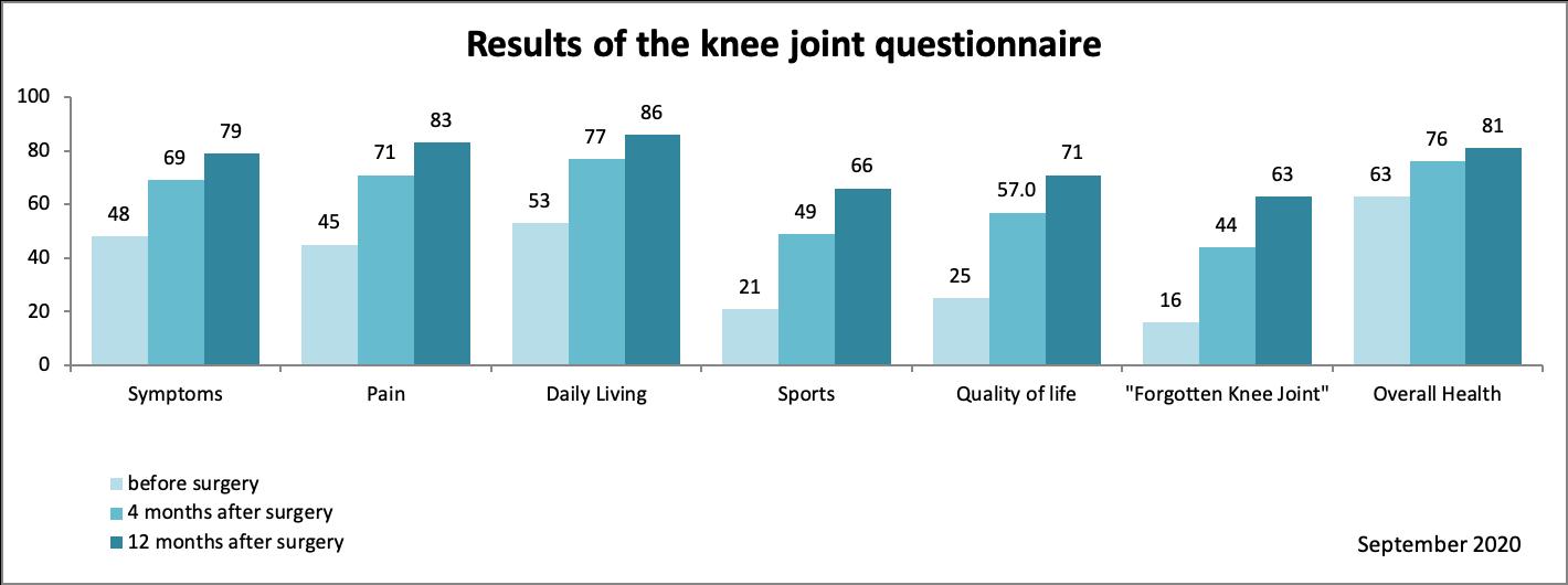 Kniegelenksprothese Fragebogen